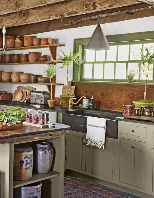 grifo rustico cocina