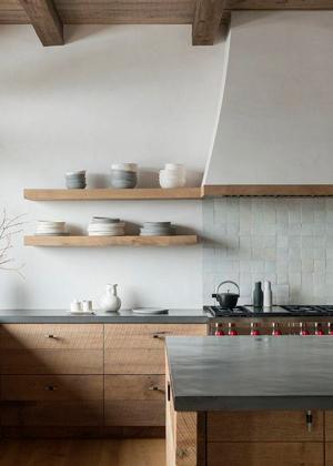 campana-rustica-cocina-madera