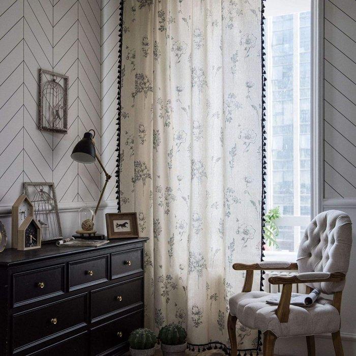 comprar cortina rustica