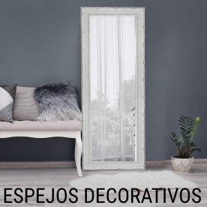 espejo decorativo madera