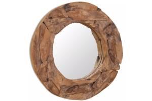 decoracion rustica espejo
